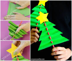 Christmas Tree In Chart Paper Chart Paper Se Christmas Tree Kaise Banaye Best Picture Of