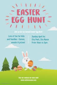 easter egg hunt template customizable design templates for easter egg hunt postermywall