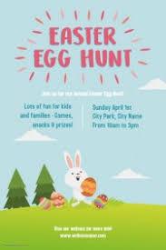 easter egg hunt template customizable design templates for easter egg hunt postermywall