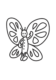Kleurplaat Vlinder Afb 18028 Images