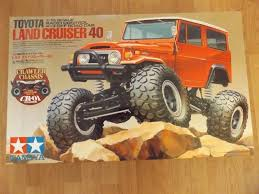 Tamiya Toyota Land Cruiser 40 RC Truck Kit only no electrics cr-01 ...