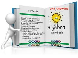 algebra 14 page workbook gcse with full solutions