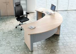curved office desks. Modern-plywood-curved-office-desk Curved Office Desks F