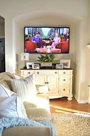 Best 25+ Mounted tv decor ideas on Pinterest | Farmhouse tv stand, Tv on wall  ideas living room and Mounted tv