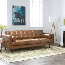 types of leather couches caramel metro leather sofa best type of leather sofa for dogs