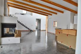 polished concrete floor loft. MODE CONCRETE: Natural Concrete Floors Look Amazing In This Brand New Contemporary Home Kelowna BC Polished Floor Loft