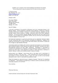Cover Internship Cover Letter Examples