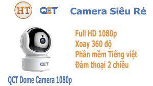 Camera giám sát QCT xoay 360 Full HD giá bình dân