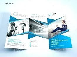4 Panel Brochure Template Bi Fold Brochure Template Tri Fold Travel Brochure Template