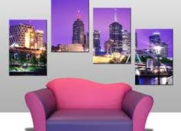 Small Picture City Melbourne City Map Wall Art Decor Home Decor Wall Hanging Art