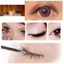 nueva marca glitter shimmer eye liner gel eyeliner líquido impermeable oro blanco de calidad superior de maquillaje sombra de oj