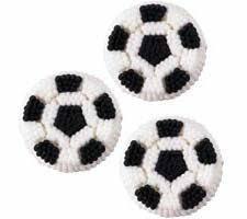 Edible Soccer Ball Cake Decorations Soccer ball Edible Sugar Decorations Soccer ball and Sugaring 58