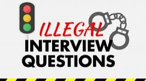 Traffic Light Interview Question Illegal Interview Questions Empire Resume