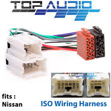 car audio and video wire harness for nissan ebay nissan tiida radio wiring diagram at Nissan Stereo Wiring Harness