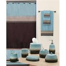 brown and blue bathroom accessories. Bathroom Accessories . This Is How I Want The Color Of My To Look Like. Blue Brown And Pinterest