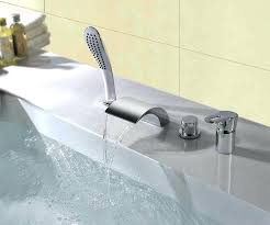 waterfall bathtub faucet sdealcom oil rubbed bronze uberhaus design roman wall mount waterfall bathtub faucet