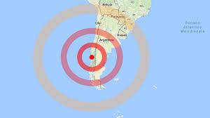 Terremoto in Cile : fortissima scossa scuote il sud America, trema anche l' Argentina