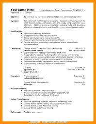 Artist Manager Resume Job Description Resume For Warehouse Job