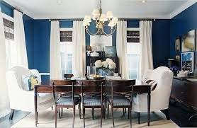 kitchen and dining room paint colors. awesome design of the blue dining room with white curtain ideas added wall and kitchen paint colors