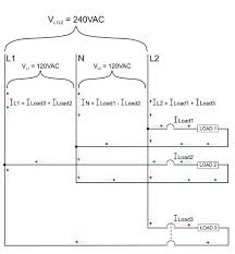 current flow in 120 240 volt ac systems blue sea systems 120 240 Volt Wiring Diagram based on the previous diagram we see that if we want to measure all of the relevant currents in a 120 240 v system we need to place our current sensing 120 240 volt motor wiring diagram