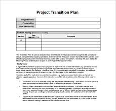 transition plan examples job transition plan template oyle kalakaari co