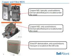 wiring a do it yourself guide support bell aliant most times the nid is located inside the house but some are outside if a nid is not present one will be installed at no additional cost to you