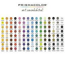 Prismacolor Pencils Color Chart Prismacolor Colored