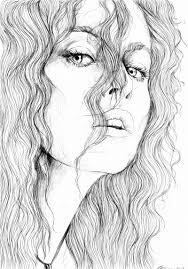 Bellatrix Lestrange Disegni Disegni A Matita Ritratto A Matita