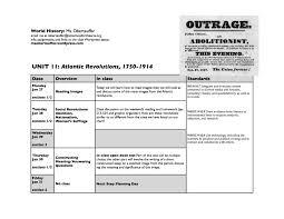 Unit 11 Revolutions 1750 1914 Msoberteuffer