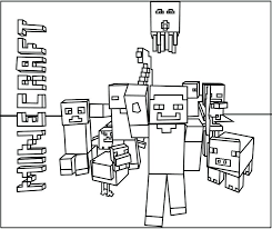 Coloring Pages Of Minecraft Coloring Pages Creeper Coloring Pages