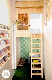 Kids Reading Nook With Play House Area