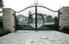 decorative garden gates. Ornamental Door Decorative Garden Gates Gate And Driveway Iron Fence