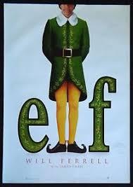 elf movie poster. Wonderful Movie Image Is Loading MOVIEPOSTERONESHEETELFWillFerrellJames And Elf Movie Poster