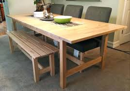 ikea high top kitchen table winsome wood dining table bench inspiring brown round modern wooden kitchen