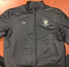 valley tire company leather jacket