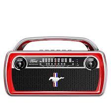 <b>ION Audio</b> Ford <b>Mustang</b> Portable Bluetooth <b>Stereo</b> Retro <b>Speaker</b> ...