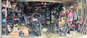 Hans Rey's garage - the ultimate MTB man cave