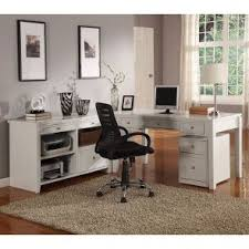 Home office set Spare Room Boca Home Office Set W Credenza Furniture Cart Home Office Sets Home Office Collections Home Office Furniture