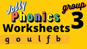 Check out our collection of printable phonics worksheets for kids. Jolly Phonics Worksheets Group 3 Goulfb Phase 3 For Grade 1 Ukg Lkg Preschool Kindergarten Youtube