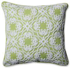 pillow perfect outdoor indoor allee throw pillow 18 outdoor cushions and pillows by pillow perfect inc