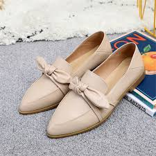 Designer White Flats Us 39 26 49 Off Genuine Cow Leather Brogue Casual Designer Vintage Lady Flats Shoes Handmade Oxford Shoes For Women Green White Grey 2019 Spring In