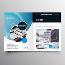 Brochure Templates For It Company Professional Company Brochure Template Free Vector In Adobe