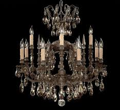 parisian collection 8 4 light large brass crystal chandelier