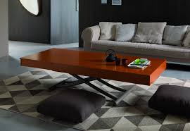height adjustable folding coffee table