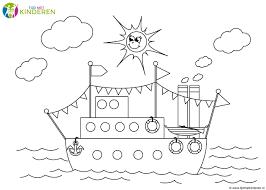 Niewu Stoomboot Sinterklaas Kleurplaat Kleurplaat 2019
