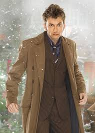 here we see david tennant as the tenth doctor wearing a classic example of a trenchcoat for a larger version