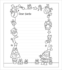 Free Letter From Santa Word Template Free Letter Santa Letterhead Template From Rafaelfran Co