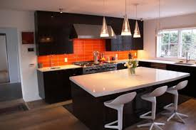 Orange Kitchens Orange Kitchen Backsplash Install Ideas Latest Kitchen Ideas