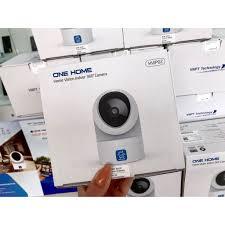 Mã ELTECHZONE giảm 5% đơn 500K] Camera IP Wifi VNPT Technology ONE HOME  HVIP02 xoay 360 kèm thẻ 16Gb hàng Việt Nam - Hệ thống camera giám sát