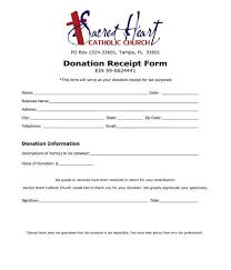 Free 5 Donation Receipt Template Forms In Pdf Doc
